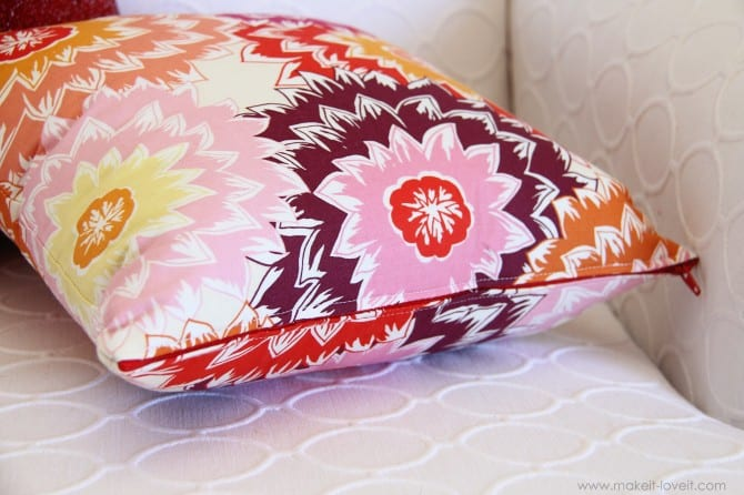 How To Make Cushion Covers With Zip 2