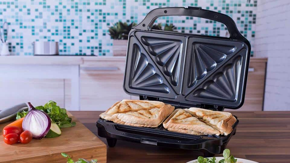 5 Things You Can Cook in a Sandwich Maker
