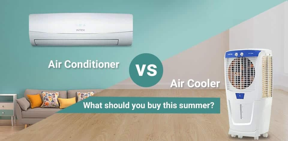 Air coolers vs Air conditioners – Which One To Buy ?