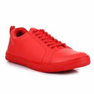 Carrito Men's Red Sneaker Shoes