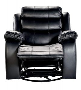 DeckUp Venetian Single Seat Recliner with Swivel and Rocker