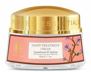 Forest Essentials Sandalwood and Saffron Night Treatment Cream
