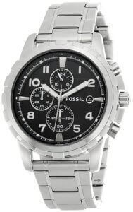 Fossil Dean Chronograph Analog Black Dial Men's Watch