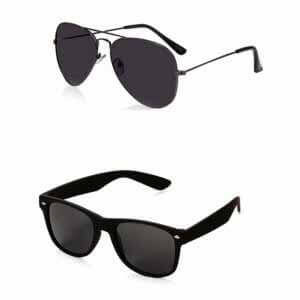 Generic Men's Aviator and Wayfarer Sunglasses