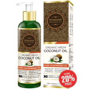 Morpheme Remedies Cold Pressed Organic Virgin Coconut Oil