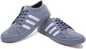 Primo Cleats Grey White Sneakers