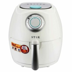 SToK Air Fryer 2.6 Litre 1350-Watt with Smart Rapid Air Technology & Double Layer Grill