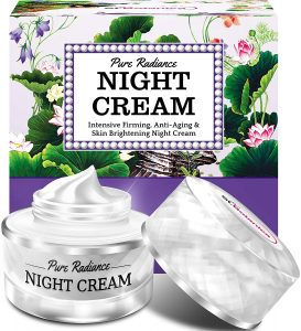 StBotanica Pure Radiance Night Cream - Intensive Firming, Anti-Aging & Skin Brightening