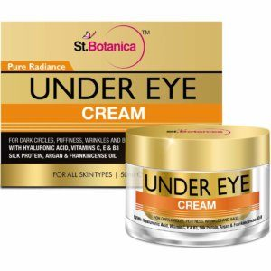 StBotanica Pure Radiance Under Eye Cream – For Dark Circles, Puffiness, Wrinkles and Bags – 50g