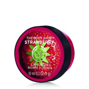 The Body Shop Born Lippy Balm, Strawberry, 8g