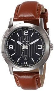 Titan Neo Analog Black Dial Men's Watch