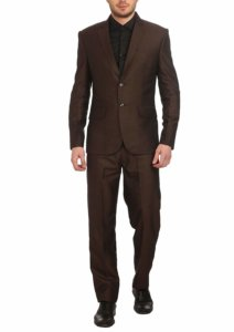 Wintage Men's Poly Viscose Two Buttoned Notched Lapel Suit