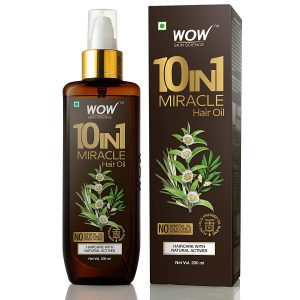 Wow 10 in 1 Miracle Hair Oil