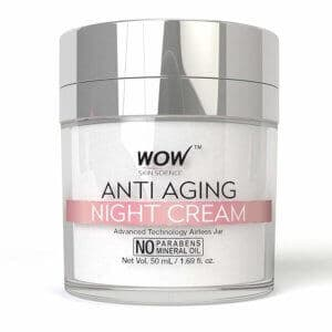 Wow Anti-Aging No Parabens & Mineral Oil Night Cream