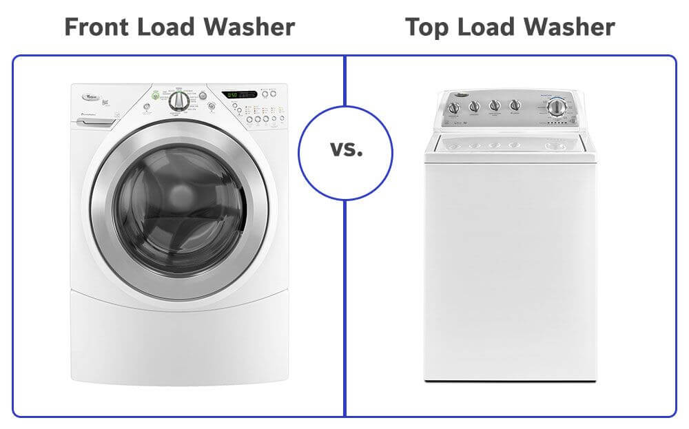 Top Load Vs Front Load Washing Machine