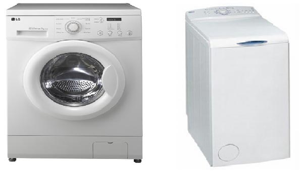 which washing machine is better front loader or top loader