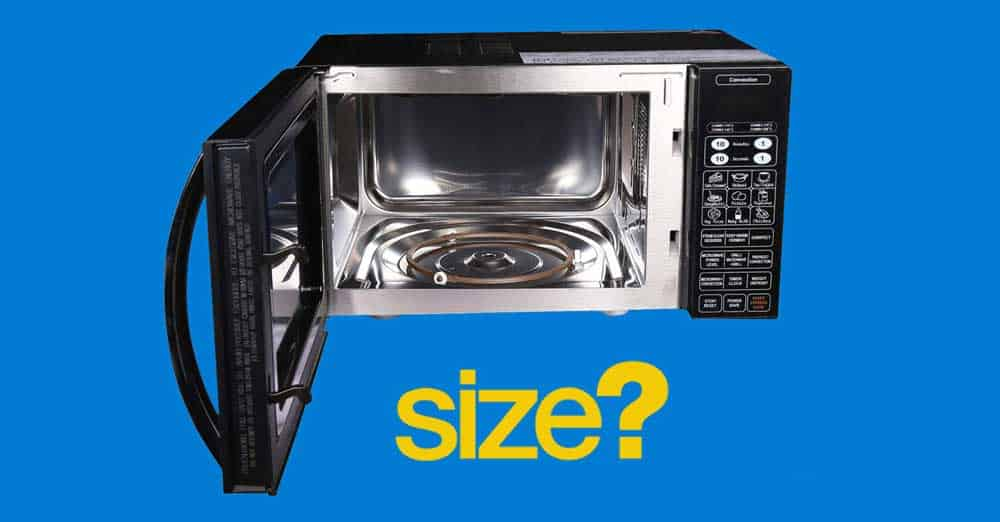 IFB 23BC4 Microwave Oven Size