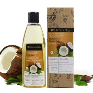 Soulflower Coconut Oil for Hair and Skin