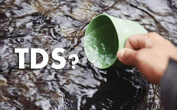 how to check tds of water,