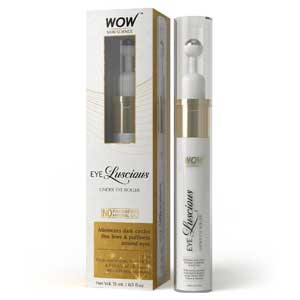 Wow Eye Luscious No Parabens and Mineral Oil Under Eye Roller