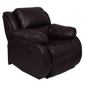 Couch Cell Brown Manual Recliner