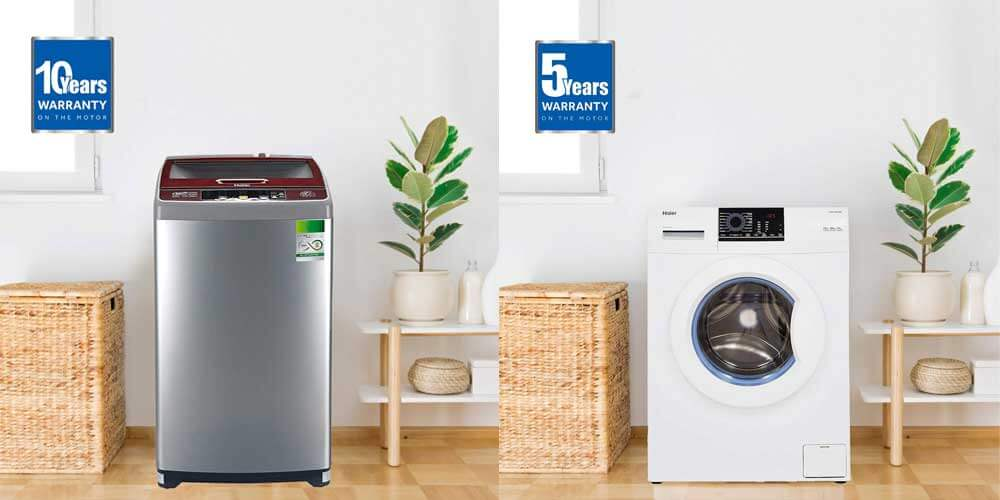 Haier Top Load vs Front Load Washing Machine
