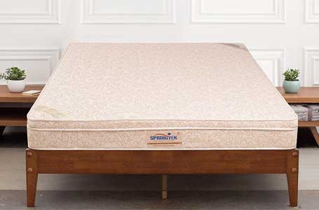Springtek EuroTop Pocket Spring and High-Density Foam Mattress
