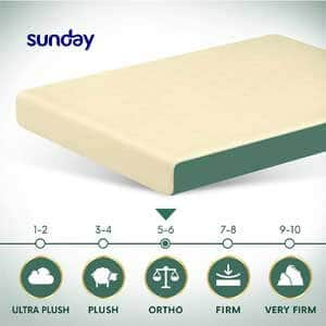 Sunday Ortho Foam and Latex Mattress