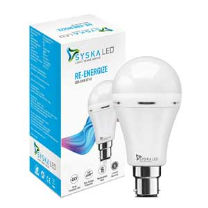 Syska Rechargeable Emergency Light/ Bulb