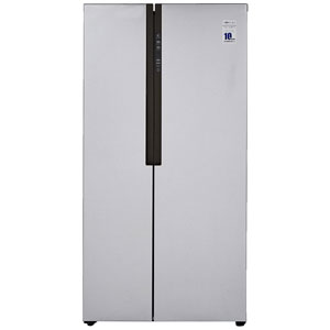 Haier HRF 619 SS 565 L Frost-Free Side by Side Refrigerator