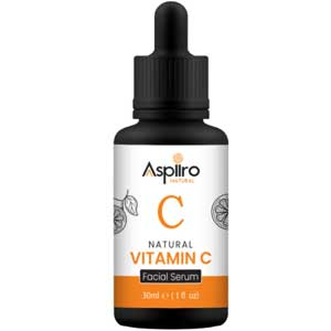 Aspiiro Natural Vitamin C Face Serum