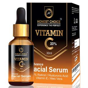 Honest Choice Vitamin C Anti-Aging Face Serum