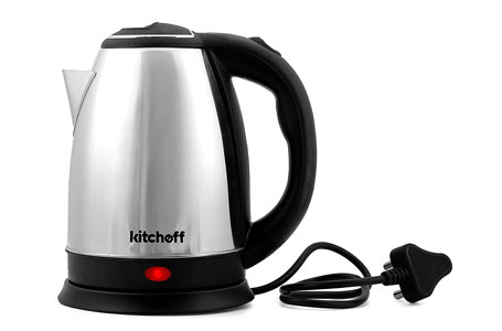 Kitchoff Automatic Stainless Steel Electric Kettle
