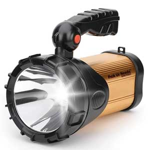 Pick Ur Needs Rechargeable Torch