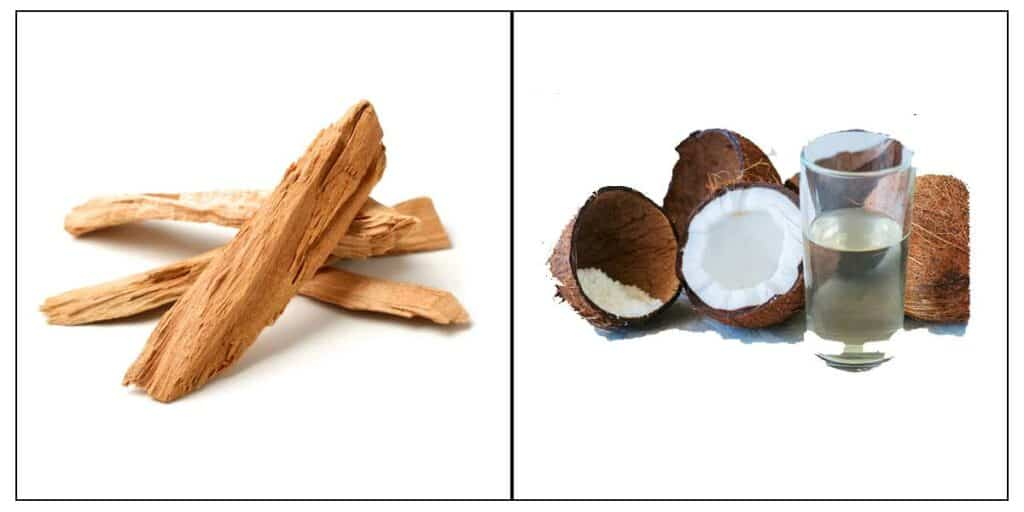 Sandal Wood And Coconut Water