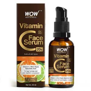 WOW Skin Science Vitamin C Face Serum