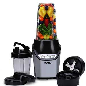 AGARO Marvel 1000W Nutri Blender with Two Tritan Jars