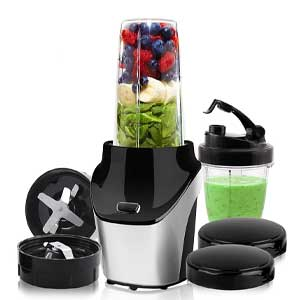 HESTIA APPLIANCES IQ-BLEND 1000 Watts Powerful Nutritional Blender