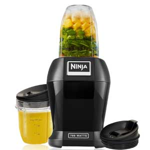 Nutri Ninja Lite 700 Watts Personal Blender with Two Tritan Jars
