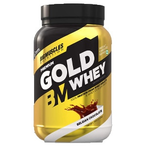 Bigmuscles Nutrition Premium Gold Belgian Chocolate Whey Protein