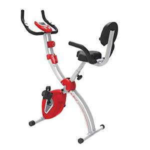 Cardio Max JSB Magnetic Upright Fitness X-Bike Exercise Cycle