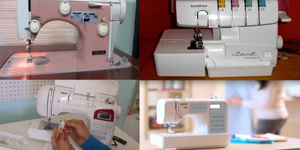 What are the types of sewing machines in India?