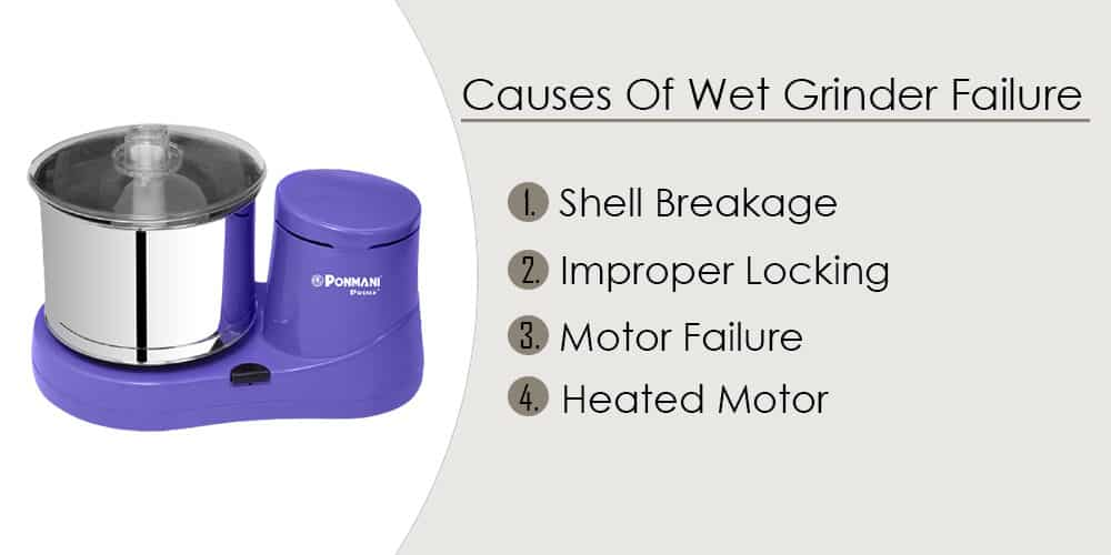 Why Is Your Wet Grinder Not Grinding Properly ? How To Take Care Of Your Wet Grinder 1