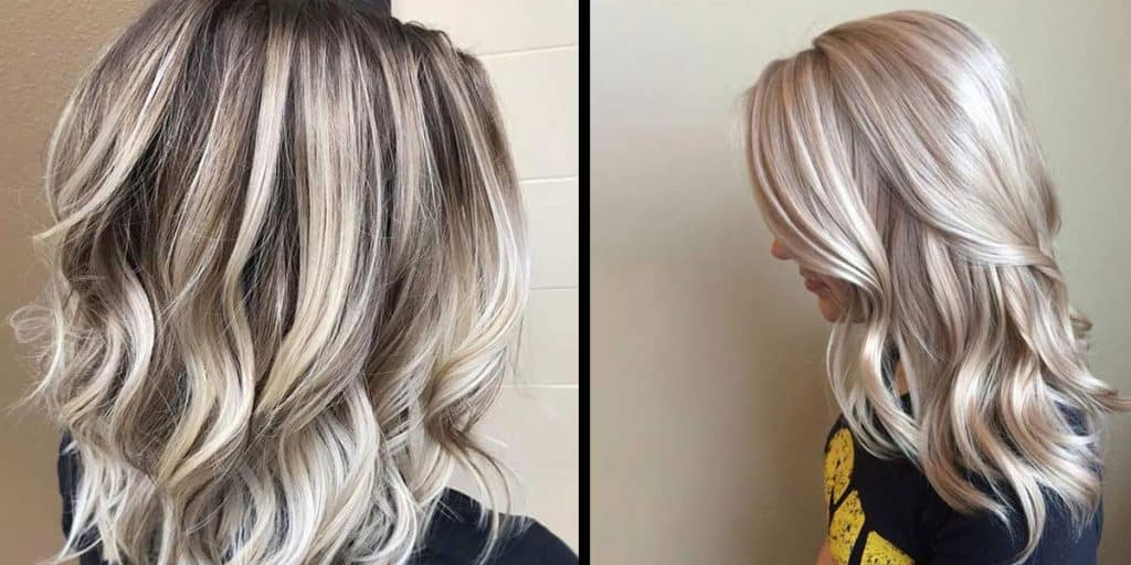 Frosted And Chunky Highlights