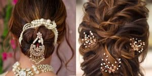 Messy Buns For Indian Weddings